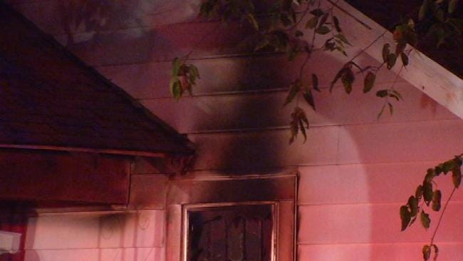WEB EXTRA: Video From Scene Of East Young Street House Fire