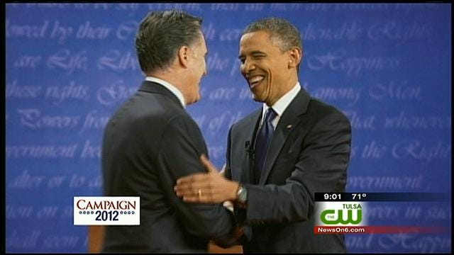 Oklahomans Tune In To First Presidential Debate Of 2012 Election