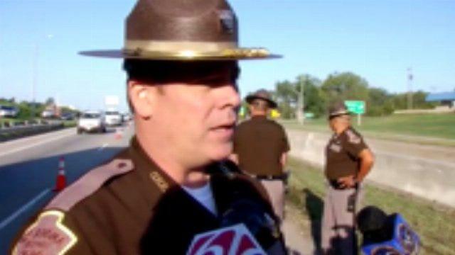 WEB EXTRA: OHP Trooper Michael Smith Talks About Semi Truck Crash
