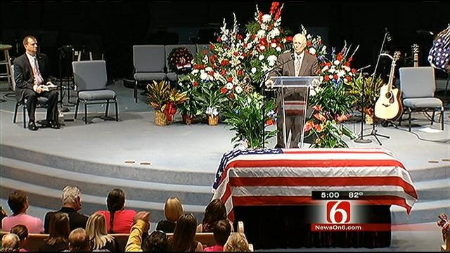 Claremore Soldier Killed In Afghanistan Laid To Rest