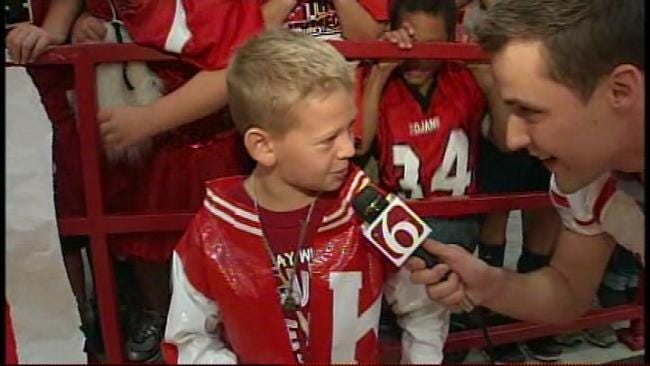 Kiefer 7th Grader Wears Duct Tape Letterman's Jacket