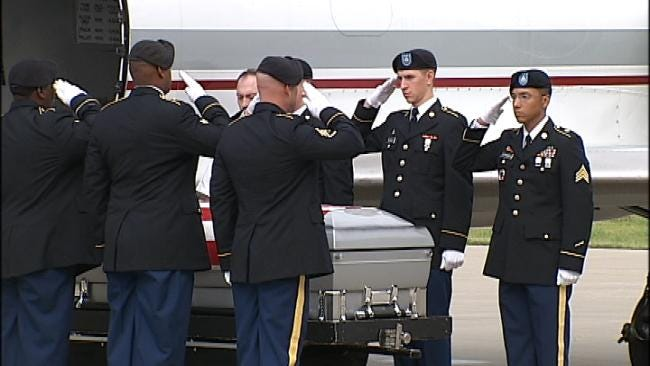 Claremore Soldier Killed In Afghanistan Returns Home