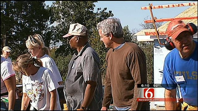 Former State Senator Helps Build Habitat For Humanity Home