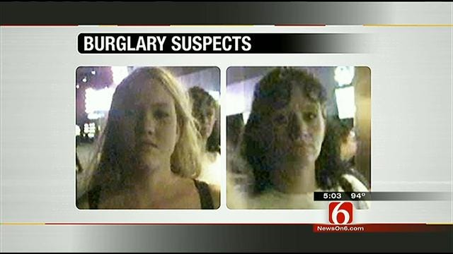 Police Seek To ID Two Women Who Burglarized A Tulsa Home Last Month