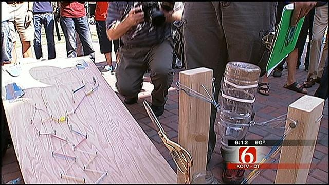 Engineering Students At University Of Tulsa Design Innovative Devices In Contest