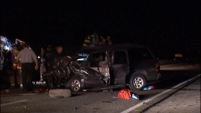 WEB EXTRA: Video From Scene Of Fatal Turnpike Crash Near Kellyville