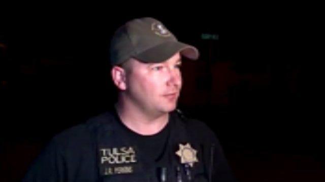 WEB EXTRA: Tulsa Police Captain Ryan Perkins Talks About Standoff, Arrest