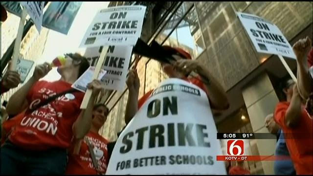 Tulsa Teachers Union Leaders Say Strike Could Never Happen Here