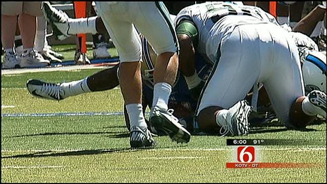 Injured Tulane Player Alert And Responding To Family