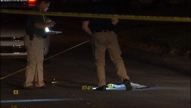 WEB EXTRA: Video From Scene Of South Tulsa Triple Shooting
