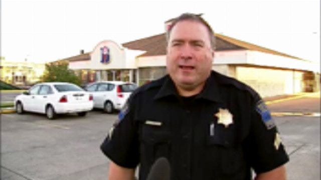 WEB EXTRA: Tulsa Police Cpl. Mark Shelton Talks About Braums Robberies