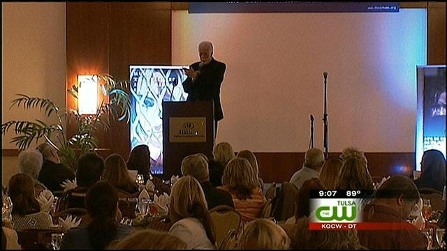 Tulsa Non-Profit Organization Holds Banquet For Human Trafficking Victims