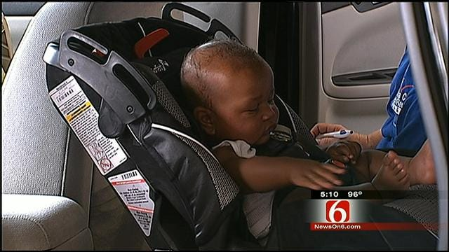 Broken Arrow Police Open Child Safety Seat Inspection Station