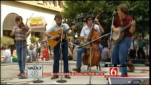 From The KOTV Vault: 1980s Bluegrass And Chili Festivals In Downtown Tulsa