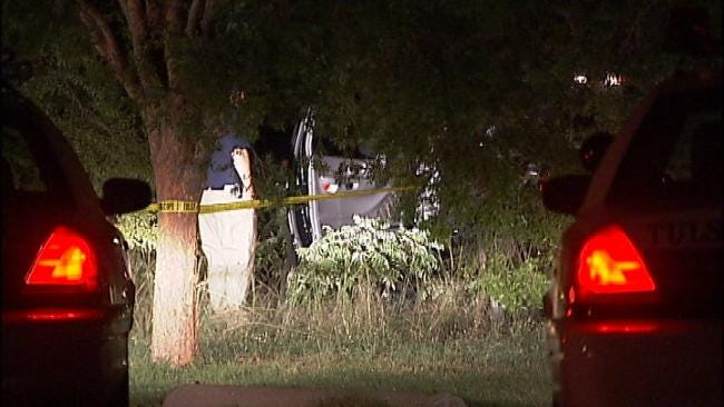 WEB EXTRA: Video From Scene Of Pickup Truck Crash Off Riverside Drive