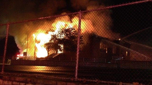 WEB EXTRA: Tulsa School Of Arts and Sciences On Fire