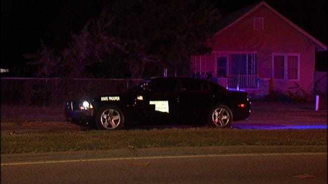 WEB EXTRA: Video From Scene Of End Of OHP Chase In Tulsa