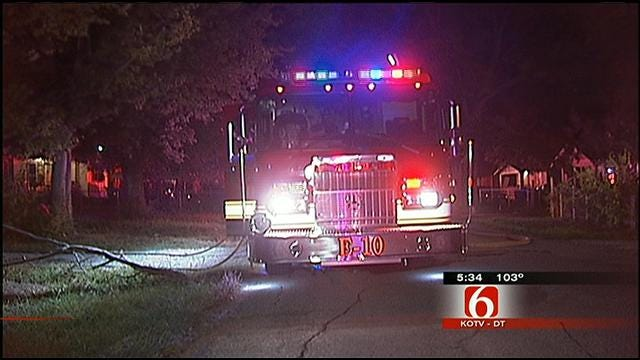 Fire Breaks Out In Vacant Tulsa House