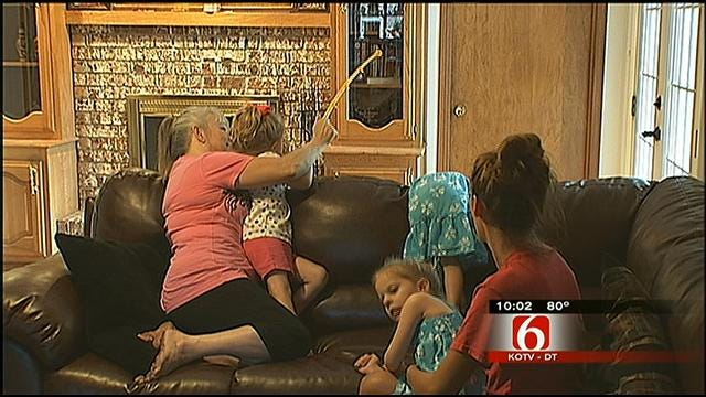 Tulsa Family Trapped Inside Due To West Nile Concerns