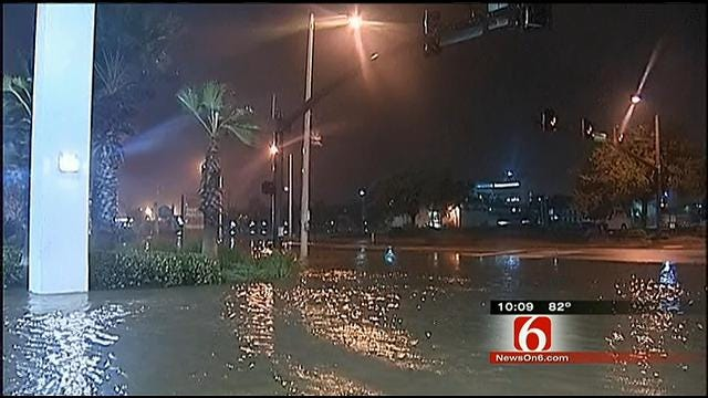Native Tulsan In Biloxi Hunkers Down As Isaac Blows Through