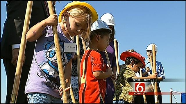 Union Public Schools Breaks Ground On Pre-School Center