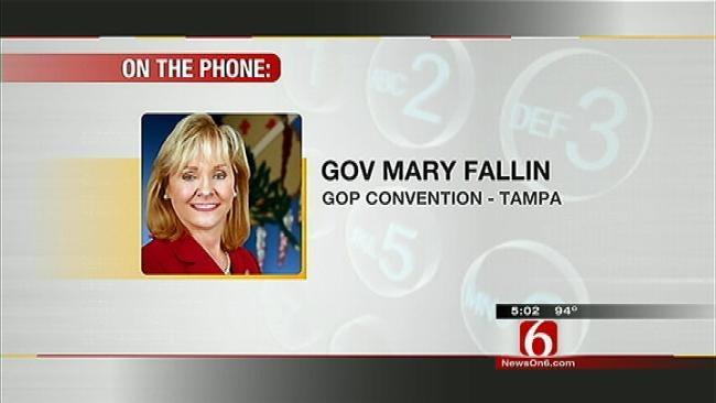 Gov. Mary Fallin On Republican Convention