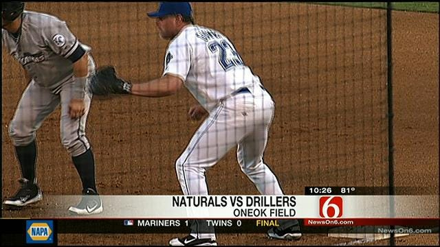 Drillers Take Down Naturals