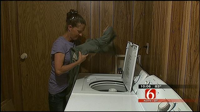 Tulsa Appliance Store Donates Washer, Dryer To Mannford Wildfire Victims