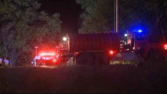 WEB EXTRA: Video From Scene Of Fatal Will Rogers Turnpike Crash