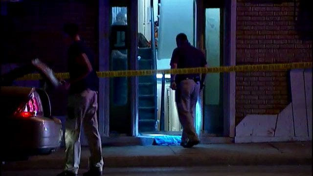 WEB EXTRA: Video From The Scene Of Accidential Shooting At 11th And Denver