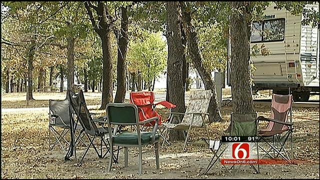 Marina Collecting Campers As Temporary Shelter For Those Displaced By Fires