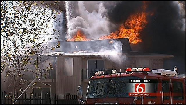 Age, Outdated Design Contributed To Damage In South Tulsa Apartment Fire