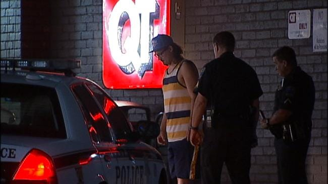 WEB EXTRA: Video From Scene Of DUI Arrest By Tulsa Police