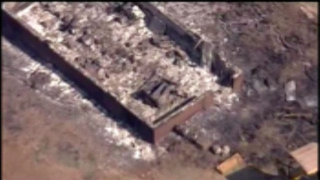 SKYNEWS6 Tours Fire-Damaged Areas In Drumright Sunday