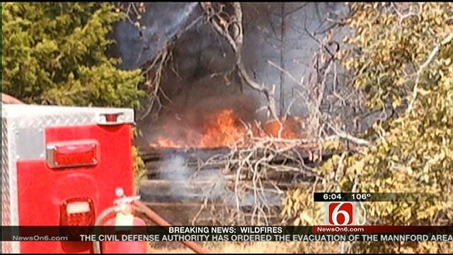 Firefighters Believe Fire North Of Kellyville May Have Been Intentionally Set