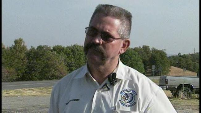 WEB EXTRA: Creek County Wildfire Update, Part 3