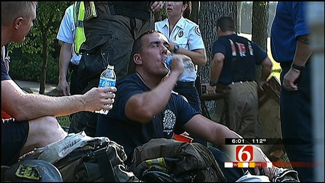 Rogers County Man Wrangles Up Gatorade Donations For Firemen