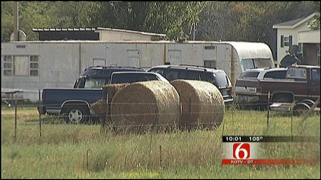Wagoner Man Arrested For Shooting Another Over Hay Bales