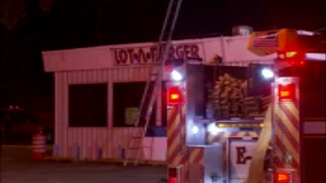 WEB EXTRA: Video From Scene Of Lot A Burger Fire