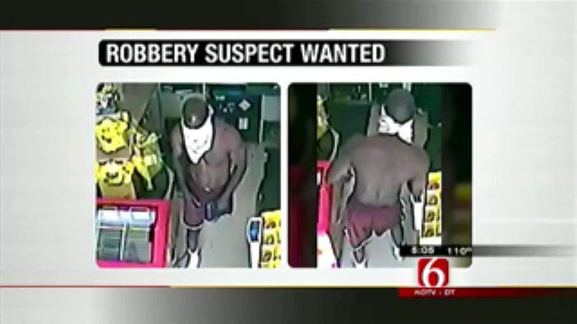 Tulsa Police Look For Dollar General Robbery Suspect