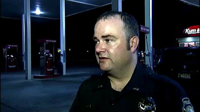 WEB EXTRA: Sand Springs Lt. John Tillman Talks About Convenience Store Robbery
