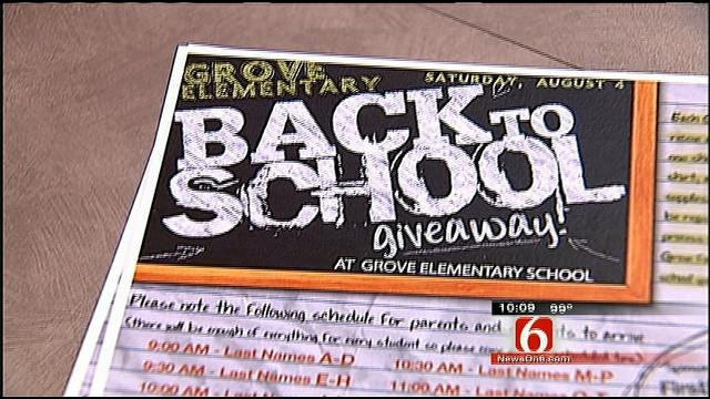 Teachers Hit The Streets To Make Sure Kids Are Prepared To Go Back To School
