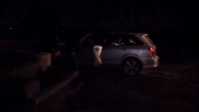WEB EXTRA: Video From Scene Of Car Crash/Fire At 11th And Mingo