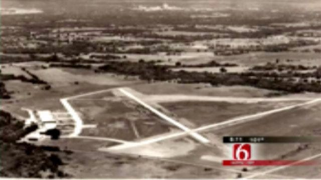 Tulsa Neighborhood Street Used To Be Airport Runway