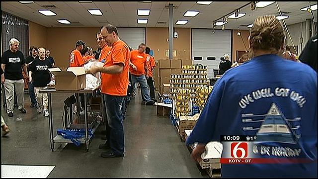 Community Food Bank Gives 'Senior Servings'