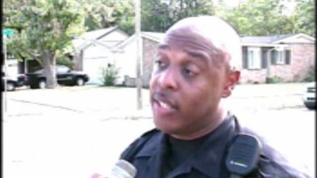 WEB EXTRA: Tulsa Police Officer Leland Ashley On Arrest Of Best Buy Shooting Suspect
