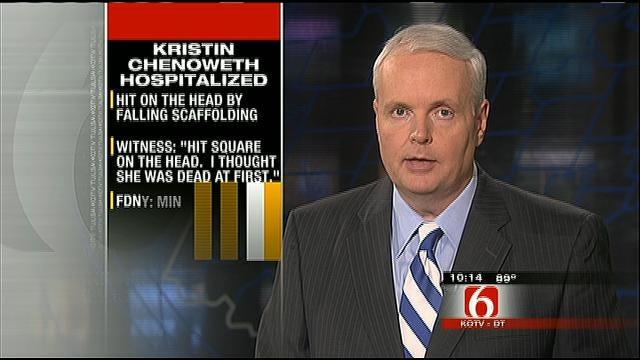 Oklahoman Actress Kristin Chenoweth Injured On Set Of TV Show