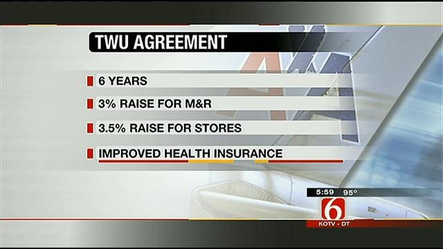 TWU Reaches Tentative Deal With American Airlines For Mechanics, Others