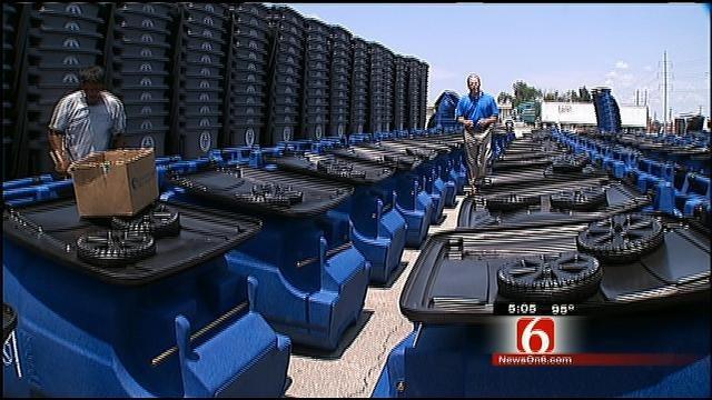 Tulsa's Trash Service To Begin Delivering New Carts Next Monday