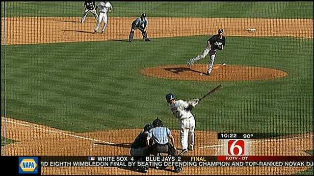Highlights From Game One Of Drillers-Missions Doubleheader